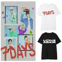 Kpop NCT Dream New Album T-shirt Korean Version Loose Fan Clothes Bottoming Shirt Short Sleeve