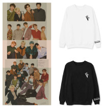 Kpop SEVENTEEN Sweater 2020 Online Concert Commemorative Round Neck Sweater Sweatershirt
