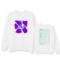 Kpop TXT Sweater Round Neck Sweater Korean Version of the INS Hedging Long Sleeve Loose Jacket