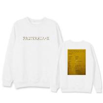 Kpop MonsterX Sweater Returns Round Neck Sweater  Version of INS Long Sleeve Loose Jacket
