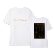 Kpop MONSTA X T-shirt New Album Short Sleeve T-shirt Loose Bottoming Shirt Short Sleeve