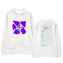 Kpop TXT Sweater Hooded Sweatshirt Plus Velvet Thin Section Loose Pullover Coat Sweatshirt