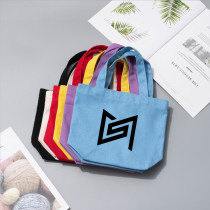 Kpop Super M Handbag Canvas Handbag Lunch Box Storage Bag Bento Bag Cosmetic Bag Multi-Handbag
