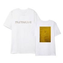Kpop MonsterX T-shirt Return Short Sleeve T-shirt Loose Bottoming Shirt Short Sleeve