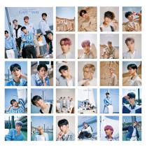 Kpop Monsta X LOMO Card NCT DREAM Card Day6 Photo Photo Postcard LOMO Card BaekHyun