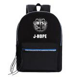 Kpop BTS Schoolbag Bangtan Boys Backpack Student Casual Canvas Bag V SUGA JUNGKOOK