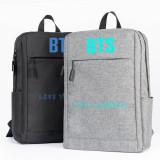Kpop BTS Backpack Bangtan Boys LOVE YOURSELF Casual Travel Canvas Bag
