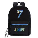 Kpop BTS Backpack Bangtan Boys Map of the Soul7 Back to School Bag Backpack Backpack Canvas Bag