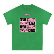 Kpop BLACKPINK T-shirt Short Sleeve Round Neck Bottoming shirt T-shirt LISA ROSE JENNIE  JISOO