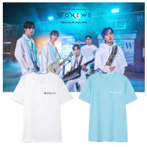 Kpop ONEWE T-shirt Short Sleeve T-shirt INS Bottoming Shirt Casual Wear Short Sleeve