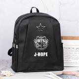 Kpop BTS Backpack Bangtan Boys Schoolbag Backpack Backpack Anti-theft Bag V SUGA JUNGKOOK