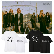 Kpop GFRIEND T-shirt New Album Short Sleeve T-shirt Loose Bottoming Shirt Short Sleeve