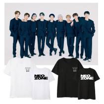 Kpop NCT127 T-shirt 2nd series NCT 127 NeoZone Short Sleeve T-shirt Printed Bottoming Shirt Short Sleeve