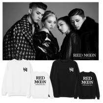 Kpop KARD Sweater New Album RED MOON Round Neck Sweater With Velvet Thin Section Sweatshirt
