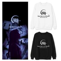 Kpop MAMAMOO Sweater MOONBYUL Solo New Album Round Neck Sweater Plus Velvet Thin Top