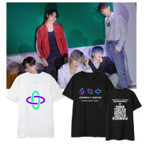 Kpop TXT T-shirt TOMORROW_X_TOGETHER Short-sleeved T-shirt Loose Bottoming Shirt T-shirt BEOMGYU HUENINGKAI  SOOBIN