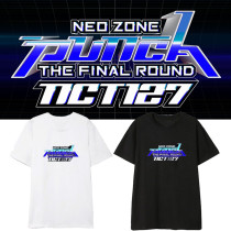 Kpop NCT127 T-shirt Album Neo Zone The Final Round Short Sleeve T-shirt Bottoming Shirt