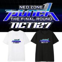 Kpop NCT127 T-shirt Album Neo Zone The Final Round Short Sleeve T-shirt Bottoming Shirt