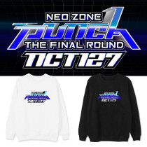 Kpop NCT127 Sweater Album Neo Zone The Final Round Round Neck Sweater Sweatshirt Long Sleeve Jacket