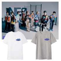 Kpop NCT127 T-shirt Album Neo Zone The Final Round Around Short-sleeved T-shirt Loose Bottoming Shirt Short Sleeve
