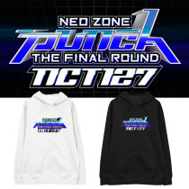 Kpop NCT127 Sweater Neo Zone The Final Round Hooded Sweater Plus Velvet Thin Hoodie Sweatshirt