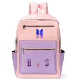 Kpop BTS Backpack Bangtan Boys School Bag Backpack Backpack Casual Canvas Bag V SUGA JUNGKOOK