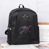 Kpop BTS Backpack Bangtan Boys Schoolbag College Style Shoulder Backpack Oxford Cloth Casual Sports Bag