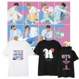 Kpop BTS T-shirt Bangtan Boys MAP OF THE SOUL7 Album Same T-shirt Short Sleeve