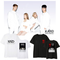 Kpop KARD T-shirt 2020 Concert Short-sleeved T-shirt Korean Version Loose Student Bottoming Shirt