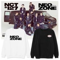Kpop NCT Sweater Returns Round Neck Sweater Sweatshirt Top Korean Version Loose all-match Sweatshirt