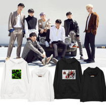 Kpop iKON Hooded Sweater Same Sweater Street Casual Loose Hoodie Sweatshirt