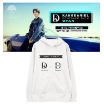 Kpop WANNA ONE Sweater Daniel Official Peripheral Hooded Sweater Plus Velvet Sweatshirt