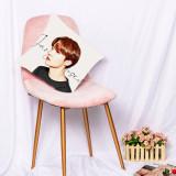 Kpop BTS Pillow Case Bangtan Boys Digital Print 3D Sofa Pillow Bedroom Home Single Pillow Waist Pillow