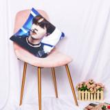 Kpop BTS Pillow Case Bangtan Boys New Album 3D Digital Printing Sofa Cushion Single Pillow Waist Pillow