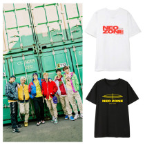 Kpop NCT127 T-shirt Album NEO ZONE New Loose Bottoming Shirt Short Sleeve T-shirt
