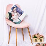 Kpop BTS Pillow Case Bangtan Boys Hand-painted Pillow Digital Printing 3D Sofa Home Pillow Waist Pillow