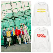 Kpop NCT127 Sweater All-match Hooded Sweater Plus Velvet Thin Coat Hoodie Sweatshirt