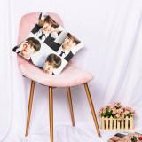 Kpop BTS Pillow Case Bangtan Boys Sofa Pillow 3D Digital Printing Single Pillow Waist Pillow V SUGA JIN JIMIN