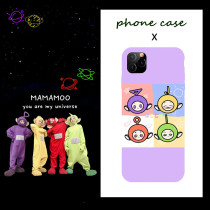 Kpop MAMAMOO Phone Case Antenna Baby Mobile Phone Shell Suitable for iphoneXS/XR/11Pro Anti-fall Hard Shell
