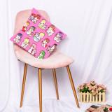Kpop SEVENTEEN  Pillow Case Digital Printing 3D Sofa Pillow Bedroom Home Single Pillow Waist Pillow