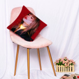 Kpop BLACKPINK  Pillow Case Hand-painted Digital Printing 3D Sofa Pillow Home Single Pillow Waist Pillow
