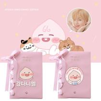 Kpop WANNA ONE Notebook Daniel Notebook Student Girl Notepad Pink Notepad