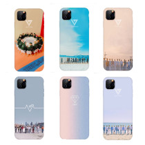 Kpop SEVENTEEN Phone Case Suitable for iphoneXS/XR/11Pro Anti-fall Hard Shell Protective Sleeve