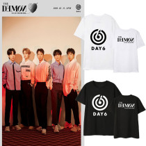 Kpop DAY6 T-shirt Album The Book of Us The Demo Short-sleeved T-shirt Loose Bottoming Shirt