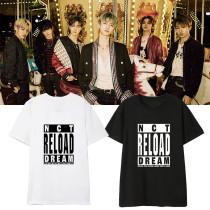 Kpop NCT DREAM T-shirt New Album Reload Short-sleeved T-shirt Loose Bottoming Shirt