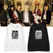 Kpop NCT DREAM New Album Reload Hooded Sweater Plus Velvet Thin Pullover Coat Hoodie Sweatershirt