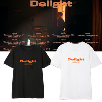 Kpop EXO T-shirt 2nd Album Delight Same Short-sleeved T-shirt Bottoming Shirt BaekHyun
