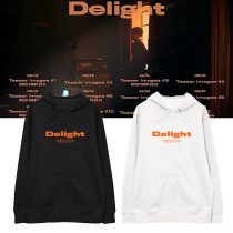 Kpop EXO Sweater BAEKHYUN Second Album Delight Hooded Sweater Plus Velvet Thin Coat Sweatshirt
