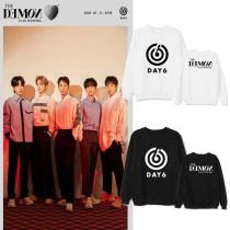 Kpop DAY6 Sweater Album The Book of Us The Demon Round Neck Sweater Plus Velvet Thin Sweatshirt