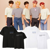 Kpop TXT T-shirt Album ETERNITY Short Sleeve T-shirt Loose Bottoming Shirt Short Sleeve